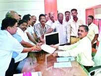 सिंधुदुर्गनगरीजिल्हाधिकारी कार्यालयासमोर कुंभार समाजबांधवांची निदर्शने