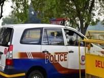 लोणावळा चौकात वाहतूक पोलिसाला मारहाण