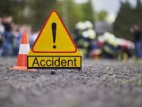 पुणे-सोलापूर हायवेवर अपघात; 11 जण जखमी, चौघांची प्रकृती गंभीर
