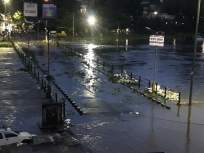 पुणे शहरातमुसळधार पाऊस: भिडे पूल पाण्याखाली,वाहतूक व्यवस्था कोलमडली