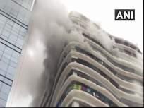 परळमधल्या क्रिस्टल टॉवरच्या 12व्या मजल्यावर लागलेल्या आगीत दोघांचा मृत्यू