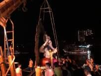 रात्री 10.30 पर्यंत वेसाव्यात शिपीलच्या तराफ्यातून 14 गणपती मूर्तींचे झाले विसर्जन