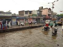 कोपरगावातील शंभर घरांमध्ये घुसले पाणी