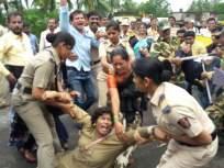 सिंधुदुर्ग : कुडाळ तालुक्यात चार ठिकाणी महामार्ग बंद आंदोलन, वाहतुक ठप्प