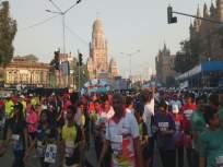 Mumbai Marathon : हाफ मॅरेथॉनमध्ये मराठी धावपटूचा दबदबा