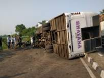 अहमदनगर-पुणे महामार्गावर भीषण अपघात, 8 जणांचा मृत्यू