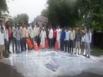 दूध आंदोलन पेटले :स्वाभिमानीच्या अहमदनगरजिल्हाध्यक्षांसह कार्यकर्ते पोलिसांच्या ताब्यात