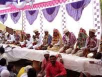 VIDEO : सामूहिक विवाह सोहळ्यात २४ जोडपी विवाहबद्ध, शिरपूर येथील गवळी समाजबांधवांचा स्तुत्य उपक्रम