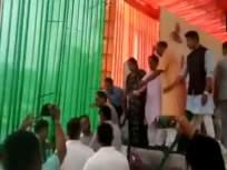 व्हिडीओ : मुख्यमंत्र्यांसमोरच भाजपाचे दोन नेते भिडले