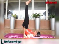 International Yoga Day 2018 : विपरीत करणी मुद्रेमुळे मेंदूला होतो योग्य प्रमाणात रक्तपुरवठा