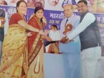 कंडारी येथील ज्योत्स्ना लोहार सावित्रीबाई फुले पुरस्काराने सन्मानित