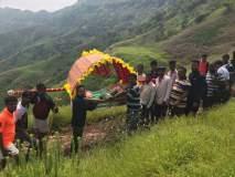 मेंगाई देवीचा नवरात्रोत्सव उत्साहात; अतिदुर्गम तोरण्यावरुन छबीन्याची मिरवणूक