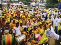 कोल्हापूर : डोक्याला भंडारा, पिवळ्या टोप्या, फेटे अन् पारंपरिक वाद्ये, होळकर जयंती