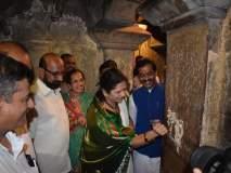 कोल्हापूर : खुलणार मातृलिंग मंदिराचे मूळ सौंदर्य, रंगकाम काढण्यास सुरुवात