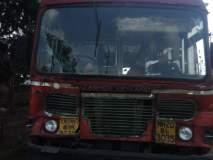 राष्ट्रीय महामार्गावरबस कंटेनरवर आदळली; १२ प्रवाशी जखमी