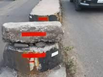 सातारा : निरा-पाडेगाव रस्त्यावर धोकादायक ठिकाणी रिफ्लेक्टर, साथ प्रतिष्ठानचा उपक्रम