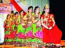 'नंद के घर आनंद भयो'वर धरला ठेका रंगिलो नखरालो राजस्थान : माहेश्वरी महिला मंडळाच्या स्नेहसंमेलनात नृत्य