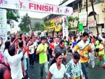 जीएचएस मॅरेथॉनमध्ये धावले १२०० धावपटू आरोग्याचा संदेश : कैलास गायकवाड, सोमनाथ जाधव विजेते