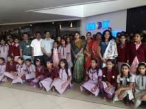 कोल्हापूर : शाळकरी मुलींचा 'पॅडमॅन'ला प्रतिसाद, पाणीपुरवठा, स्वच्छता विभागाचा उपक्रम