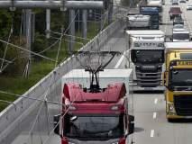 आश्चर्य...ई-हायवेवर धावू लागले ट्रक; मुंबई-दिल्ली मार्गाची उत्सुकता