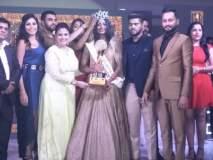 चंद्रपूरची सानिया दत्तात्रेय बनली 'मिस इंडिया ग्लोब'