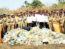 सिंधुदुर्ग : एनसीसीचे प्लास्टिकमुक्त किल्लाअभियान, मालवण पालिकेने घेतला पुढाकार