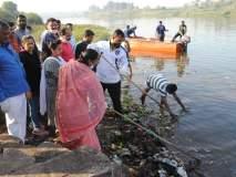 सांगलीत कृष्णा नदी स्वच्छता अभियानाचा श्रीगणेशा