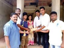सिंधुदुर्ग :विद्यार्थ्याला मालवण येथील १०० इडियटग्रुपची मदत