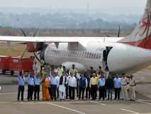 हैदराबाद-कोल्हापूर-बंगलोर सेवा : दुसऱ्या दिवशी विमानाने ८५ जणांचा प्रवास