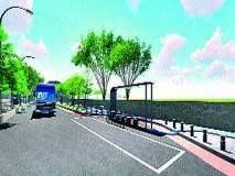 कंपनीपुढे पेच : जागा संपादनासाठी कराव्या लागणार तडजोडी 'स्मार्ट रोड'साठी अडथळ्यांची शर्यत