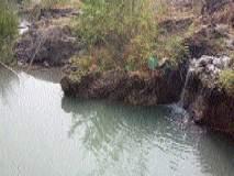 जलवाहिनीस गळती; लाखो लिटर पाण्याचा अपव्यय