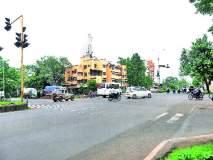 दिंडोरी रोडवरील तारवालानगर चौफुलीवर वाहने सुसाट