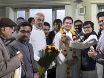 सांगली : बाहुबली महामस्तकाभिषेकसाठी राहूल गांधी यांना निमंत्रण, दिल्लीत समितीने घेतली भेट : सोहळ्याला उपस्थित राहण्याची ग्वाही