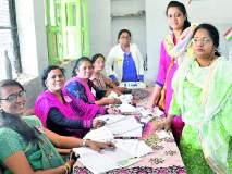 Lok Sabha Election 2019; महिलांनीच चालविले मतदान केंद्र