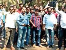 सिंधुदुर्ग: पालकमंत्र्यांच्या विरोधात उभादांडा येथे घोषणाबाजी, काळे झेंडे दाखवत ग्रामस्थांनी केला निषेध
