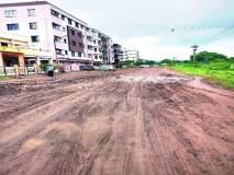 कलानगरचे रस्ते हरवले चिखलात