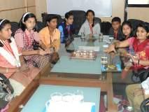 'लोकमत'च्या कार्यालयात कोल्हापुरात भावी पत्रकारांनी केले एक दिवस काम