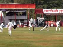 रणजी सामना : जडेजाचे शतके अवघ्या तीन धावांनी हुकले सौराष्ट्र ३ बाद २५९ धावा