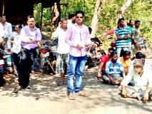 ग्रामस्थांचे रास्तारोको आंदोलन, दभोली-खानोलीवासीय आक्रमक : रस्त्याची चाळण, अपघात वाढले