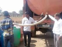 सिन्नर तालुक्यात अकरा गावे, ५७ वाड्यांना टॅँकरने पाणीपुरवठा