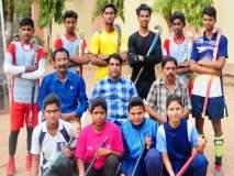महाराष्ट्र हॉकी संघाच्या निवड चाचणीसाठी औरंगाबादचे खेळाडू रवाना