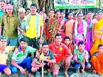 जंगल बचावासाठी ग्रामस्थ सरसावले