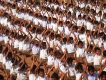 मैदानी खेळांची चित्तथरारक प्रात्यक्षिके, महाराष्ट्र हायस्कूल व ज्युनिअर कॉलेजचे आयोजन