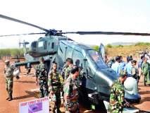 नव्या लढाऊ हेलिकॉप्टरच्या प्रात्यक्षिकांनी सारेच भारावले 'एचएएल'चे उत्पादन : सोहळ्यासाठी बंगळुरूवरून खास आगमन; आगळ्या-वेगळ्या 'ब्लॅक लूक'ची उपस्थितांना मोहिनी