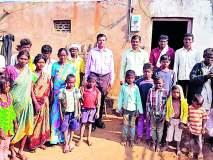 गरीब आदिवासींच्या ५० घरांत उजेड