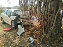 सातारा : कार झाडावर धडकून अव्वल कारकून ठार; दोन जखमी