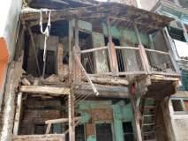 धुळयातील १०५ धोकादायक इमारती दुर्लक्षित