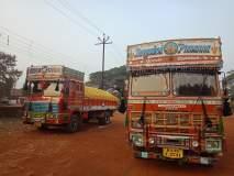 रत्नागिरी :दोन ट्रकवर दंडात्मक कारवाई, कोल्हापूरच्या ट्रकचालकाचा समावेश