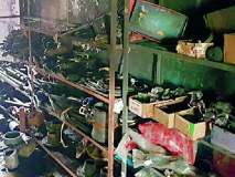 एमआयडीसीत ट्रॅक्टर वर्कशॉपला आग