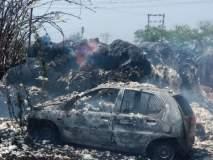 यवतमाळ जिल्ह्यातील नेरच्या विदर्भ जिनिंगला आग; लाखोंचे नुकसान